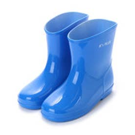 無地 シンプル レインシューズ スリップ防止 15cm-19cm キッズ.ジュニアベビー.男の子.女の子.長靴.レインブーツ.子供 (BLUE)