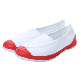 上履き 子供用・大人用 学校靴・軽作業 (RED)