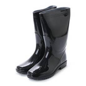 軽半長靴 軽作業用 黒 長靴・kp_16049 (BLACK)