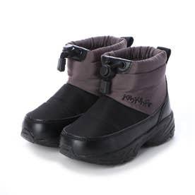 KP-031 ドローコード付き防寒ブーツ (グレー)