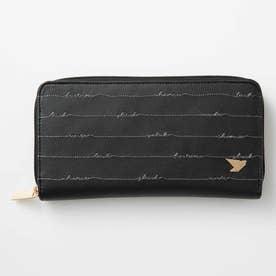 すっきり整とんが幸運を呼び込む 見やすく整理しやすい長財布 (ブラック)