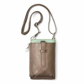 究極の手ぶら! ミニ財布としても使える ウエストスマホケース (ミント)