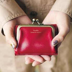 最小限を連れてって 真っ赤なりんご色のちっちゃめ手のり財布 (レッド)