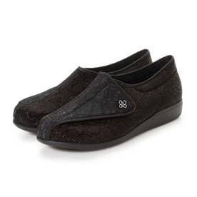 女性用 L011 (ブラック/ブラック) レディース 婦人靴
