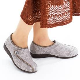 女性用 L011 (グレージュガラ) レディース 婦人靴