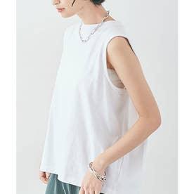 バックボックスノースリーブTシャツ [kmt0053](ホワイト)