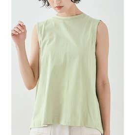 バックボックスノースリーブTシャツ [kmt0053](ミント)