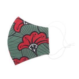 コットンプリントマスク 【返品不可商品】【返品不可商品】 (L)
