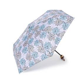 アフリカンプリント折り畳み傘 (ラベンダー)