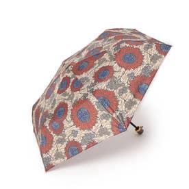 アフリカンプリント折り畳み傘 (レッド)