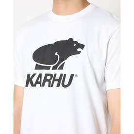 Tシャツ ロゴ入り ユニセックス BASIC LOGO ロゴ入り Tシャツ (ホワイト/ブラック)