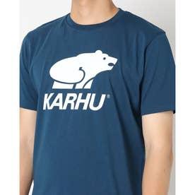 Tシャツ ロゴ入り ユニセックス BASIC LOGO ロゴ入り Tシャツ (ネイビーポセイドン/ホワイト)