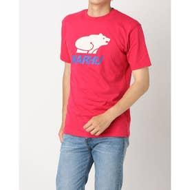 Tシャツ ロゴ入り ユニセックス BASIC LOGO ロゴ入り Tシャツ (ジャジー/ホワイトキャップグレー)