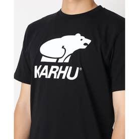 Tシャツ ロゴ入り ユニセックス BASIC LOGO ロゴ入り Tシャツ (ブラックホワイト)