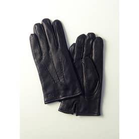 紳士革手袋 (ブラック)