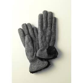 婦人縫手袋 (グレー)