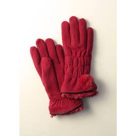 婦人縫手袋 (レッド)