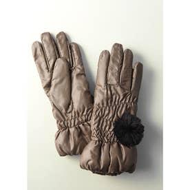 ポリエステル手袋 (ベージュ)