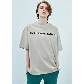 オーガニックコットン オーバーサイズTシャツ (ベージュ)