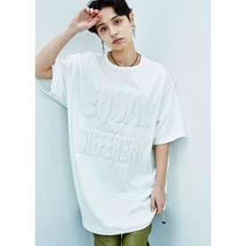 EQUAL BUT DIFFERENT オーガニックコットン ロングTシャツ (ホワイト)
