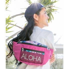 【Kahiko】アロハボタニカルワンショルダーバッグ ピンク