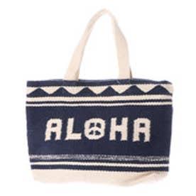 【Kahiko】ALOHAピーストートバッグ ネイビー