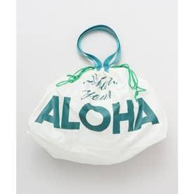 【Kahiko】アロハワイマーケットエコバッグ ホワイト