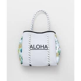 【Kahiko】ALOHAパインネオプレーンバッグ ホワイト