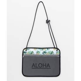 【Kahiko】ALOHAパインネオプレーンショルダーバッグ グレー
