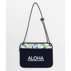 【Kahiko】ALOHAパインネオプレーンショルダーバッグ ネイビー