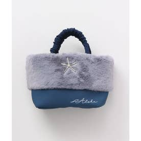【Kahiko】ラニファー巾着バッグ ネイビー