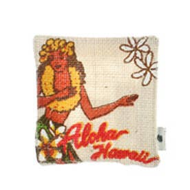 ◆【kahiko】Hawaiian ジュートコースター グレイッシュベージュ