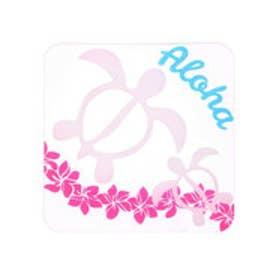 ◆プチプラ 【kahiko】HAWAIIAN ALOHA COASTER / ハワイアンアロハコースター アイボリー