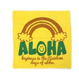 【kahiko】ALOHAコーデュロイクッションカバー イエロー