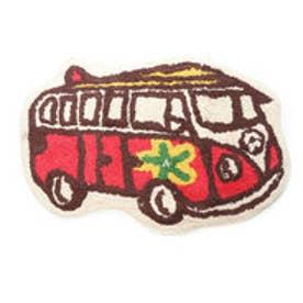 【kahiko】サーフィンバスマット レッド