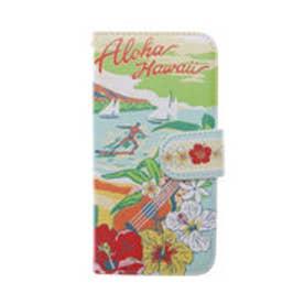 【kahiko】手帳型iPhone7用スマホケース Hawaiian その他7