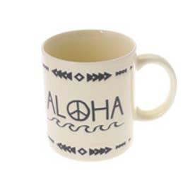 【Kahiko】アロハピースマグカップ クリーム