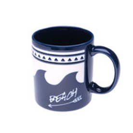 【Kahiko】ビーチウェーブマグカップ ネイビー