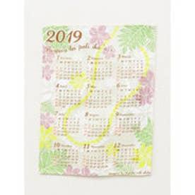 【Kahiko】2019年ジュートカレンダー FLOWERS ピンク系その他