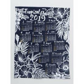 【Kahiko】2019年デニムカレンダー TROPICAL FLOWERS インディゴブルー