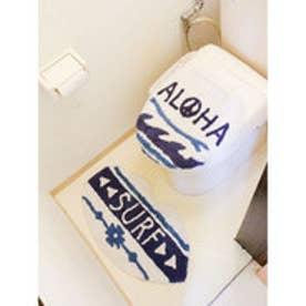 【Kahiko】HAWAIIAN TOILETRY COVER&MAT / トイレセット サーフボード ホワイト