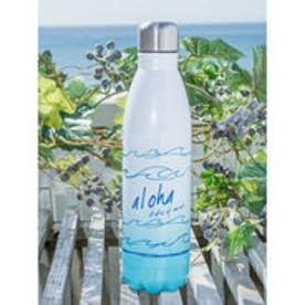 【Kahiko】Alohaウェーブステンレスボトル ホワイト