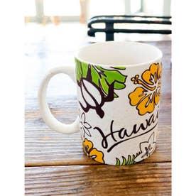 【Kahiko】ハワイアンマグカップ オレンジ