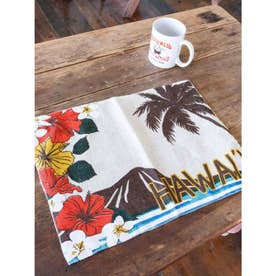 【kahiko】Hawaiian ジュートプレイスマット その他3