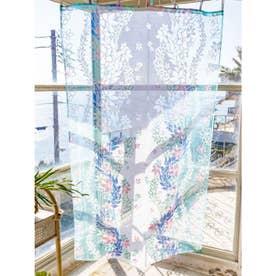 【Kahiko】レイ オパールカーテン178cm ブルー