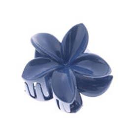 ◆【kahiko】プルメリアヘアクリップ ブルー