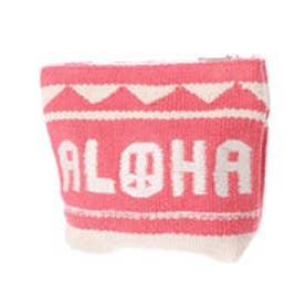 【Kahiko】ALOHAピースポーチ ピンク