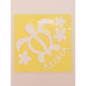 【kahiko】Hawaiian Sticker ホヌ&プルメリア ホワイト