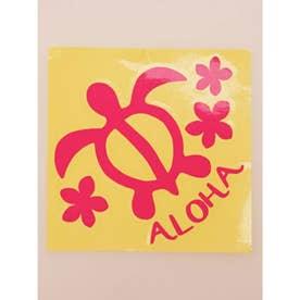 【kahiko】Hawaiian Sticker ホヌ&プルメリア ピンク