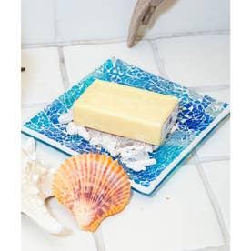 【Kahiko】ビーチガラスタイルトレイ ブルー